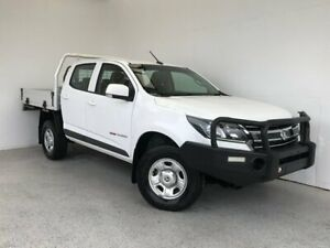 2018 Holden Colorado RG MY18 LS Crew Cab White 6 Speed Sports Automatic Cab Chassis Mount Gambier Grant Area Preview
