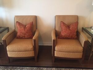 2 Beautiful Accent Chairs. West Island Greater Montréal image 1