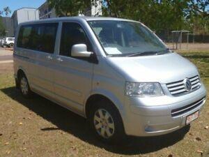 2010 Volkswagen Multivan T5 Comfortline Silver 6 Speed Sports Automatic Wagon Stuart Park Darwin City Preview