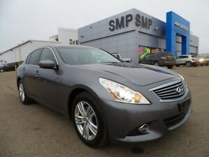 2010 Infiniti G37X Sedan Luxury AWD, heated leather seats, sunro