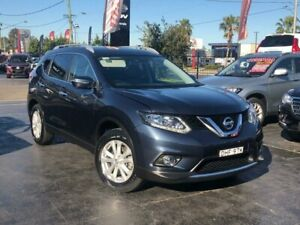 2016 Nissan X-Trail T32 ST-L Blue Constant Variable Wagon Lansvale Liverpool Area Preview