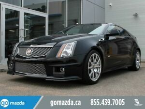 2012 Cadillac CTS-V Coupe CTS-V 556HP LEATHER ROOF NAV, BABIED C