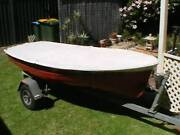 Classic Seabird 3.2 sailing rowing dinghy Goolwa Alexandrina Area Preview