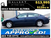 2012 Nissan Altima 2.5S $129 BI-WEEKLY APPLY NOW DRIVE NOW