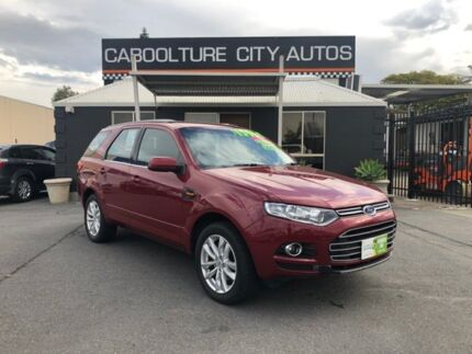 2014 Ford Territory SZ MkII TS Seq Sport Shift Red 6 Speed Sports Automatic Wagon Morayfield Caboolture Area Preview