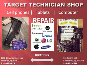 PHONES REPAIRS, UNLOCK, ACCESSORIES, APPLE, SAMSUNG,LG, HTC West Island Greater Montréal image 1