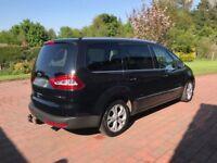 13-13 Black Ford Galaxy 2.0L TDCI Titanium, 81k Miles, 7 Seater