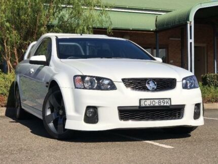 2012 Holden Ute VE II SV6 White Sports Automatic Utility