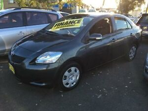 2011 Toyota Yaris NCP93R MY11 YRS Charcoal 4 Speed Automatic Sedan Lidcombe Auburn Area Preview