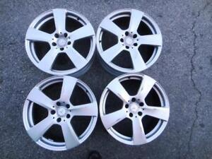 """18"""" used sets of Mercedes-Benz alloy rims 5x112 from $600 and up - A LOT TO CHOOSE FROM"""
