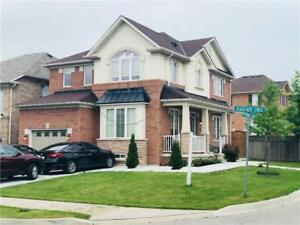 Beautiful 4 Bedroom Detached House Built On Premium Corner Lot!