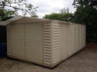 18x10 plastic shed