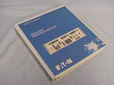 Eaton 2075 Noise-gain Analyzer Operation Manual
