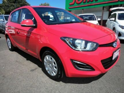 2013 Hyundai i20 PB MY14 Active Red 4 Speed Automatic Hatchback Mount Gravatt Brisbane South East Preview