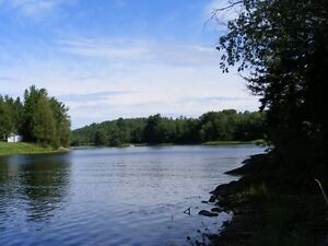 Amazing waterfront lot on the mighty Madawaska River