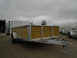 ALL ALUMINUM HIGH SIDED 6.5 X 12' LANDSCAPE TRAILER LOWEST PRICE London Ontario image 12
