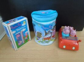 Peppa Pig bundle toys all for £5-post it