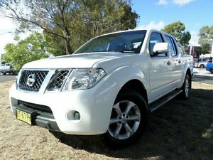 2013 Nissan Navara D40 MY12 ST (4x2) White 5 Speed Automatic Dual Cab Pick-up Belconnen Belconnen Area Preview