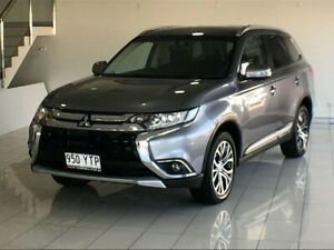 2017 Mitsubishi Outlander ZK MY17 LS 2WD Grey 6 Speed Constant Variable Wagon Southport Gold Coast City Preview