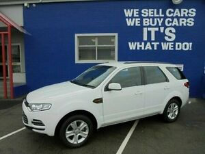 2013 Ford Territory SZ TX Seq Sport Shift White 6 Speed Sports Automatic Wagon Welshpool Canning Area Preview