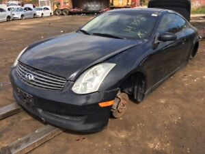 2006 Infinity G35 Coupe just in for parts at Pic N Save!