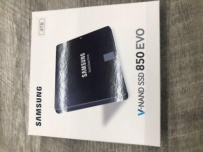 """NEW IN BOX 4TB Samsung 850 EVO 2.5"""" Solid State Drive SATA MZ-75E4T0B/AM SSD"""