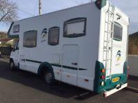 Motorhome, Weinsburg Meteor, 6 birth, Fiat Ducato 2.8, campervan