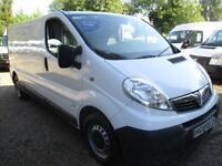 2014 Vauxhall Vivaro 2.0CDTi 115ps 2900 LWB NO VAT 100,000 MILES GUARANTEED,