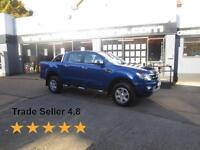 2014 Ford Ranger Limited 2.2TDCi 4x4 Double Cab 17K miles A/C SatNav Leather E/W