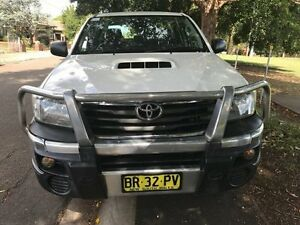 2012 Toyota Hilux KUN26R MY12 SR Double Cab White 4 Speed Automatic Utility Croydon Burwood Area Preview
