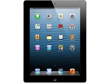 "Apple iPad 4 MD510LL/-B 9.7"" Retina Touchscreen 16 GB Apple A6 1.40 GHz iOS 6 Wi"