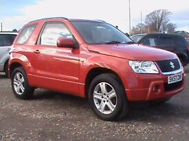 SUZUKI GRAND VIARA 1.6 3 DOOR RED IMMACULATE THROUGHOUT,CLICK ONTO VIDEO LINK FOR MORE DETAILS