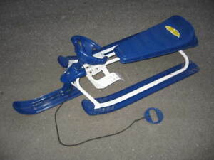 *** SOLD*** Beautiful Blue Snowracer ***SOLD***