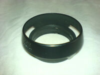 LEICA M camera LENS HOOD, vented, clip on. for 50mm f/2