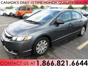 2009 Honda Civic DX-A | LOW PRICE | WINTER TIRES