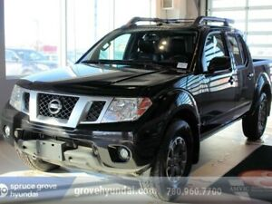 2016 Nissan Frontier PRO-4X: LEATHER, CREW CAB, NAVIGATION, SUNR