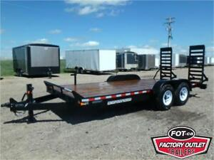 *14K* 18' Equipment Hauler by Canada Trailers -*SCORPION COAT*-