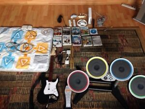 Nintendo Wii - System, controllers, accessories, games