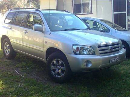 2007 Toyota Kluger Wagon 7 seater Maclean Clarence Valley Preview