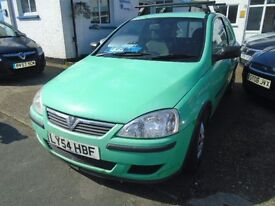 VAUXHALL CORSA, DIESEL VAN GREEN,2004, MOT,DRIVES WELL
