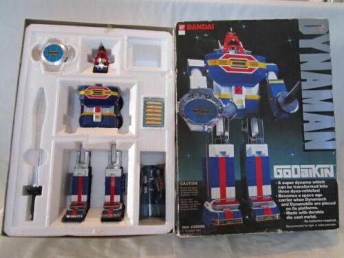 Vintage 1984 Bandai Dynaman Godaikin #300006 Robot in Original Box
