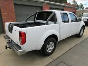 2010 Nissan Navara D40 ST (4x4) White 6 Speed Manual Dual Cab Pick-up Gilles Plains Port Adelaide Area Preview