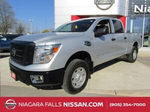 2017 Nissan Titan XD S 4WD CUMMINS DIESEL | PUSH BUTTON START |