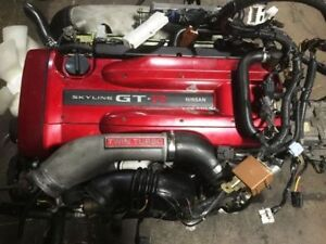 NISSAN SKYLINE GTR R34 RB26DETT MOTOR & MT 6 SPEED GETRAG MT