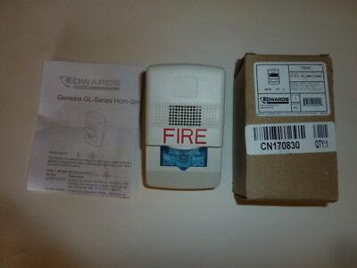 New Edwards Gl1wf-hdvmc Horn Strobe Fire Alarm Led Strobe Light - 170830