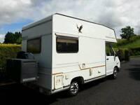 ELDDIS ECLIPSE T1400 4 Berth - Full 12 months MOT (Renault) Motorhome, motor home, camper van