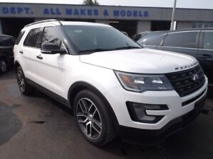 2016 Ford Explorer Sport AWD LEATHER SUNROOF