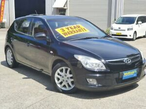 2010 Hyundai i30 FD MY10 SLX Black 5 Speed Manual Hatchback Mayfield East Newcastle Area Preview