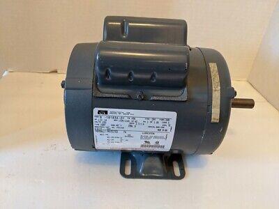 Aero Tech Inc. 12 Hp Electric Motor 230 Volts K56 Frame