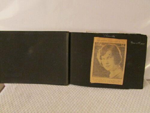 Vintage 1920s WEDDING Scrapbook